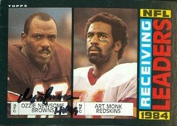 Ozzie Newsome autographed Football Card (Cleveland Browns) 1985 Topps #193 - NFL Autographed Football Cards