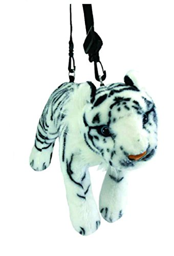 UNIC Beast Plush Pochette White Tiger ()