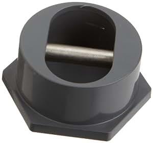 Pentair 86201302Gris ABS Anchor Taza con acero inoxidable barra transversal de repuesto piscina y Spa especialidad accesorios