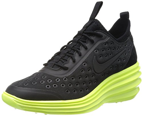 Nike Lunar Elite Sky Hi Womens Black Volt 631376-007 Size 6.5 US
