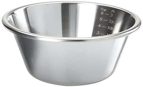 Linden Sweden Stainless Steel Whip Bowl, (Flat Bottom Stainless Steel Bowls)