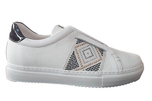 Sneakers ELIX Elastico STAU bianco 750 Bianca STAU Nappa Sneakers con ZEwqxZAS