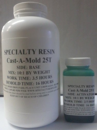 Cast-A-Mold 25T Silicone Rubber (1 Quart) by Specialty Resin
