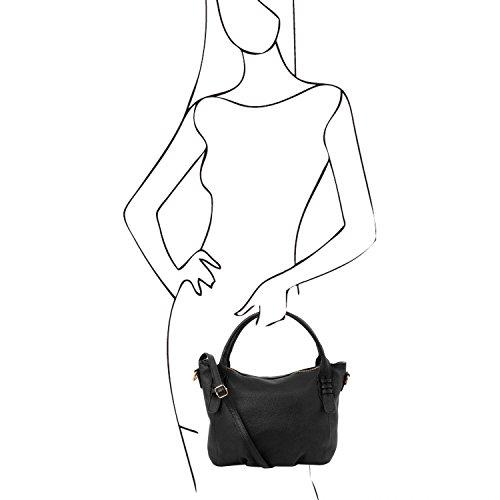 Tuscany Leather - TL Bag - Borsa a mano in pelle morbida - TL141705 (Nero) Nero Footlocker Imágenes En Línea Barato Precio De Descuento Baja FZ7oh