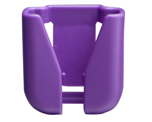 ADC Hip Clip Style Stethoscope Holder, Purple (Pack of 3) by ADC (Image #1)