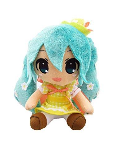 Taito-Vocaloid Hatsune Miku Plush Toy Stuffed Doll- 7 Miku-