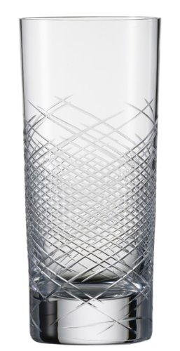 Zwiesel 1872 Charles Schumann Hommage Collection Comete Handmade Glass Large Long Drink Cocktail Glass, 16.4-Ounce, Set of 2