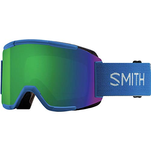 3d65deedc4ac1 Smith Optics Squad Adult Snow Goggles - Imperial Blue Chromapop Sun Green  Mirror One Size