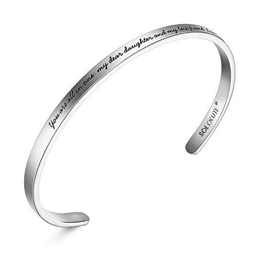 Solocute Women Bangle Bracelet
