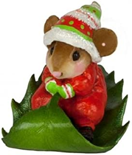 product image for Wee Forest Folk M-629 Holly Express (New Christmas 2017) (Red)