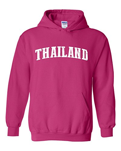 Ugo What To Do in Thailand Phuket Bangkok Travel Deals Map Flag Unisex Hoodie Sweatshirt (Air Phuket)