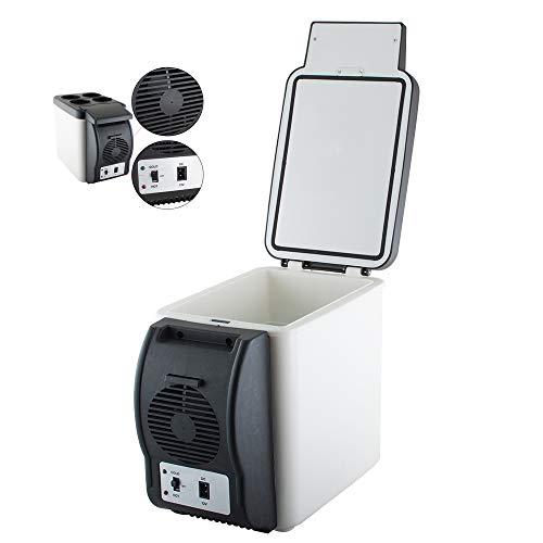 Careshine Mini Fridge Electric Cooler and Warmer (6 Liter / 6 Can Plus) :110v AC / 12V DC, For Car/Home /Kitchen/Junket/Outdoor by Careshine