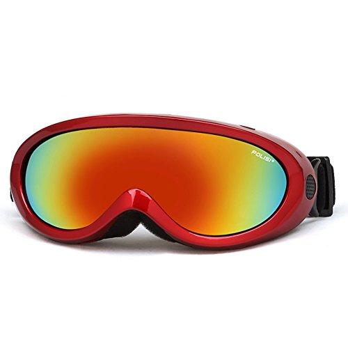 Adultes et lunettes de ski Lunettes de sport Alpinisme anti-brouillard pour enfa UKj2od