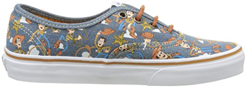 Vans Authentic, Zapatillas Unisex Adulto Multicolor (Toy Story) Woody/true white)