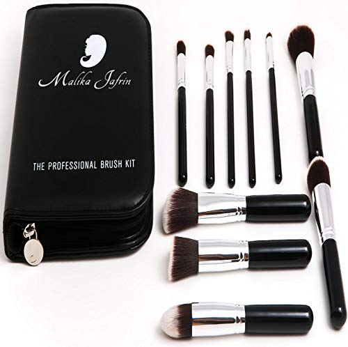 (Kabuki Brush - Makeup Brushes For Face & Eyeshadow - Make up Brush For Foundation Concealer Contour Blush Highlight Buffing Blend - Cosmetic Brushes For Powder Liquid Cream - Soft)