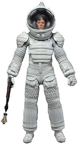 "NECA Aliens Series 4 Ripley 7"" Action Figure (White Nostromo Spacesuit Version)"