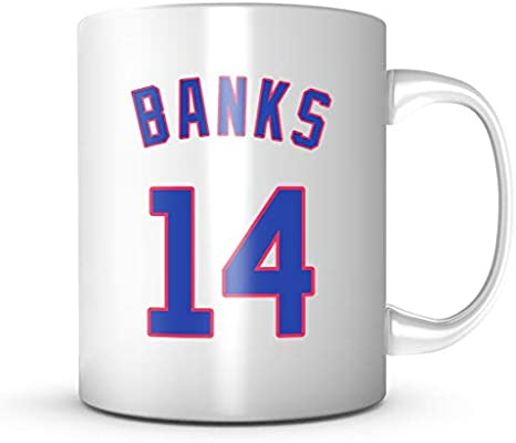 promo code c2eed db57e Ernie Banks Mug - Jersey Number Baseball Coffee Cup at ...