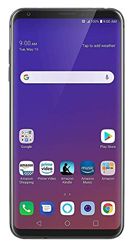 LG V35 ThinQ 64GB Smartphone GSM Unlocked (AT&T/T-Mobile), Platinum Gray