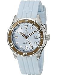 Swiza Womens WAT.0431.1002 Tetis Analog Display Swiss Quartz Blue Watch