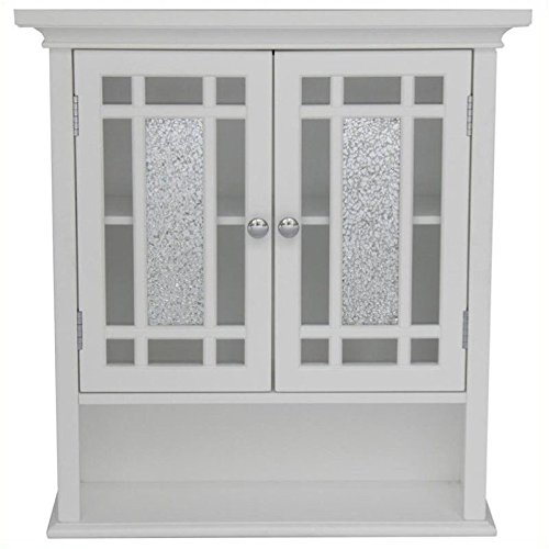 Pemberly Row 2-Door Wall Cabinet in White