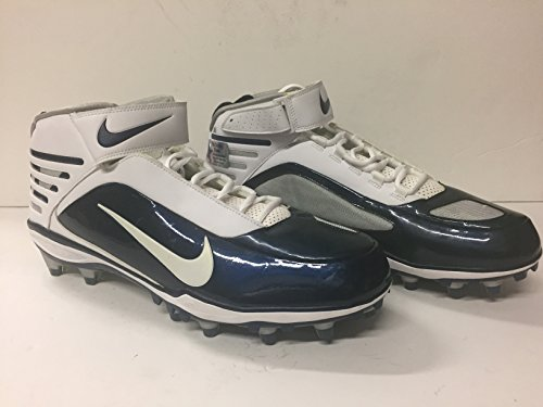 Dallas Cowboys #51 Kyle Wilbur 2013 Game Issued Size 14- Nike Air Zoom Football Cleats DeMarcus Ware Collection (Cowboy House COA)