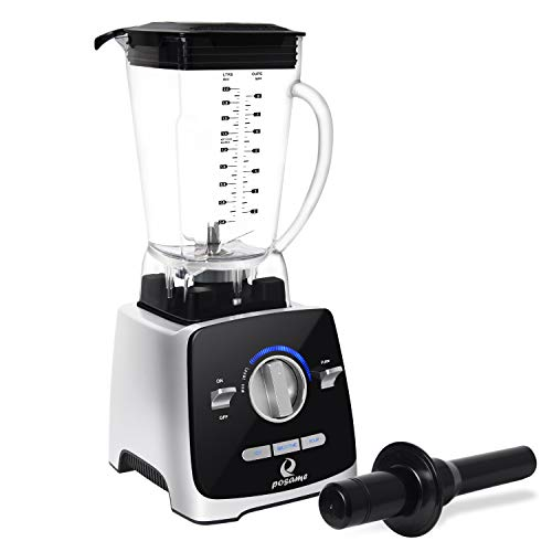 Top Milk Glass Baby (Professional Blender, POSAME 1400W High Speed Blende Blender for Shakes and Smoothies, Hot Soups, Nuts, Coffee Bean, Juice, Baby Food, Countertop Blender , 72 Ounces BPA-Free Tritan Jar, Variable Speed Control)