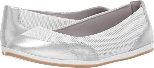 Aerosoles Women's GET Smart Shoe, Silver Combo, 6.5 M US