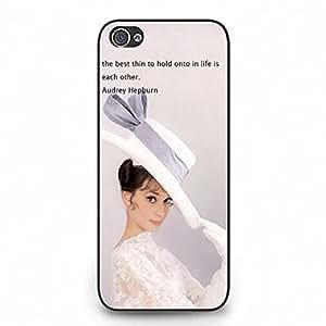 CustomerOrd Iphone 5c Case Cover Audrey Hepburn Accessories Series Cases