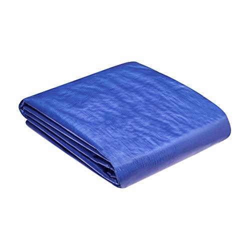 AmazonCommercial - Lona impermeable de poliéster multiusos, 4,2x6m, 0,127mm de espesor, azul, pack de 3unidades