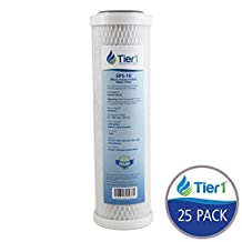 Pentek EP-10 5 Micron 10 x 2.5 Comparable Whole House Carbon Water Filter 25 Pack