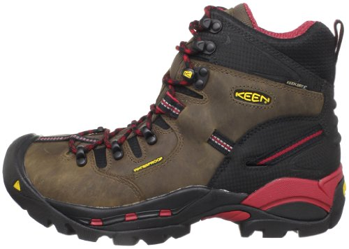 257b4f195c4 KEEN Utility Men's Pittsburgh Steel Toe Work Boot,Bison,9 D US