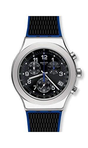 Swatch Reloj Cronógrafo para Hombre de Cuarzo con Correa en...