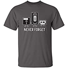 Never Forget Sarcastic Graphic Music Novelty Funny T Shirt