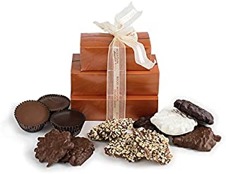 product image for Rocky Mountain Chocolate Factory Toffee, Bears, and Buckets Gift Tower, 33.2 Ounce