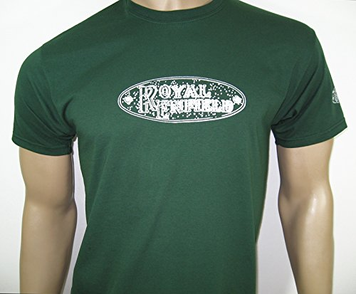 Royal Enfield City T-Shirt in Grün – Gr. Large (40 bis 106,7 cm) –