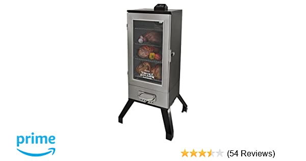 Amazon.com : Smoke Hollow 3616DEWS 36-Inch Digital Electric Smoker with Window, Stainless Steel : Garden & Outdoor