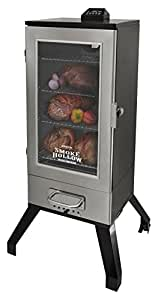 Smoke Hollow 3616DEWS  36-Inch  Digital Electric Smoker with Window, Stainless Steel
