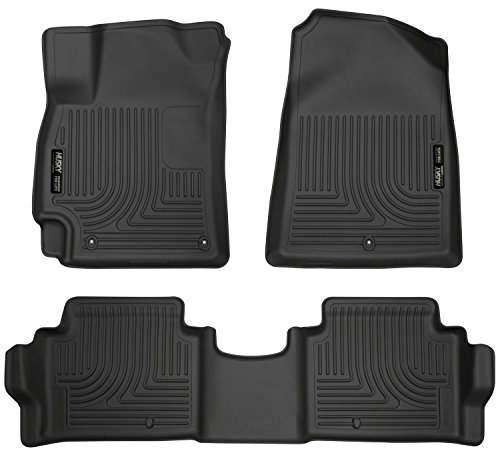 Husky Liners Front & 2nd Seat Floor Liners Fits 2017 Elantra