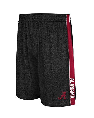 Alabama Crimson Tide Black Mens Wicket Synthetic College Shorts (L=34/35)
