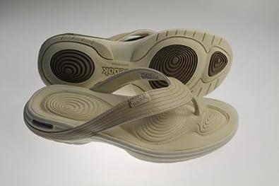 d0dc674e7a1b Image Unavailable. Image not available for. Colour  Reebok Easytone Flip  Womens Fitness Toning Flip Flop Sandals 2-J20053