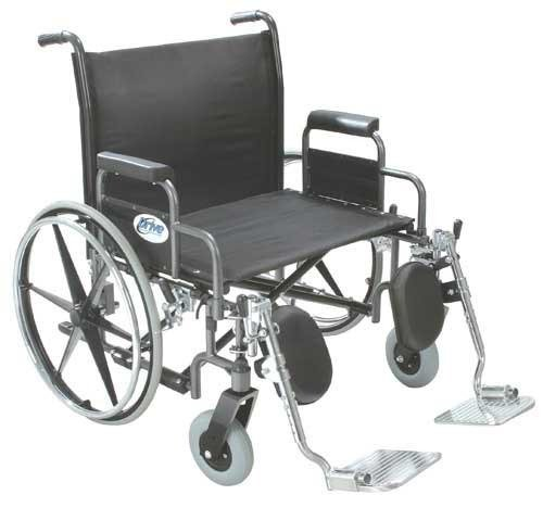 Bariatric Wheelchair Rem Full Arms 26 Wide Rem Full Arms