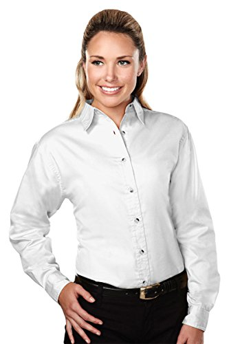 Tri Mountain Womens 762 Specialist Twill Shirt With Dupont Teflon Fabric Protector