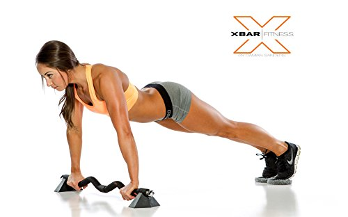 Xbar Portable Gym Workout System Personal Home and Office Gym Training Set with Over 100 Exercises for Men & Women