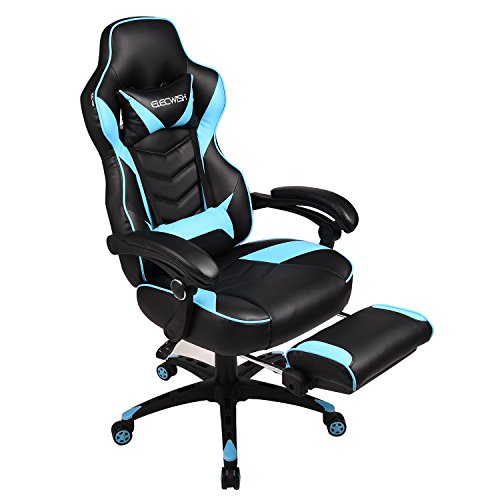 Elecwish Video Game Chair High-Back PU Leather Racing Office