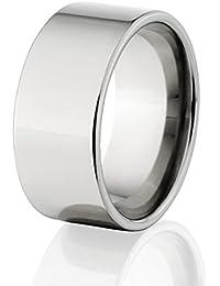 american made mens titanium rings wedding bands pipe cut rings - Mens Wedding Rings Titanium