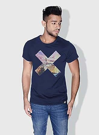 Creo Palestine X City Love T-Shirts For Men - Xl, Blue
