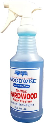 Woodwise Wood - Woodwise Ready-to-Use No-Wax Hardwood Floor Cleaner 32oz Spray