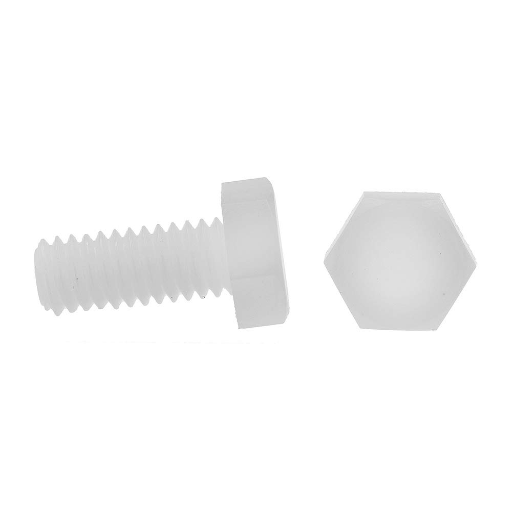 10-Pack Prime-Line Products Nylon Prime-Line 9097619 Hex Head Cap Screws 5//16 in-18 X 3//4 in