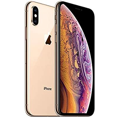 Image of Apple iPhone XS, 256GB, Gold - For Verizon (Renewed) Carrier Cell Phones