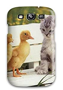 First Class Case Cover For Galaxy S3 Dual Protection Cover Cat